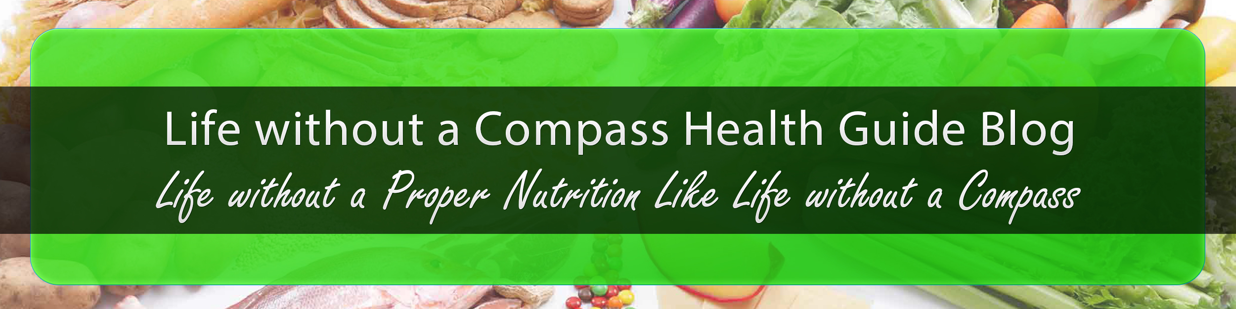 Life without a Compass Health Guide Blog